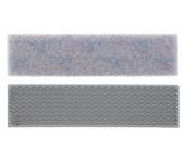 "VELCRO® Brand Extreme Hold Adhesive -1""-Titanium Grey-Per yard"