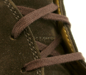 Flat Dress Shoe Laces (Color: Brown)