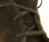 Elastic Shoe Laces (Color: Brown)