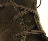 Elastic Shoe Laces (Color: Brown)