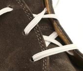 Elastic Shoe Laces (Color: White)