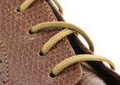 Round Dress Shoe Laces (Color: Tan)