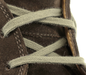 Flat Dress Shoe Laces (Color: Grey)