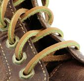 "72"" Leather Laces (Color: Lt. Brown/Saddle)"