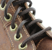 "72"" Leather Laces (Color: Dark Brown)"