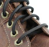 """72"""" Leather Laces (Color: Black)"""