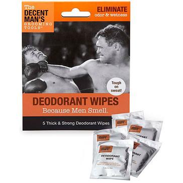 Decent Man's Grooming Tools - Deodorant Wipes
