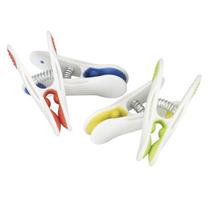 Household Essentials Soft Touch Plastic Clothespins 12ct.