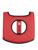 Zuca Seat Cushion Reversible (Black/Red)