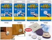 Super Neodymium Magnet Discs with Adhesive