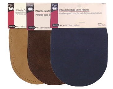 Dritz Suede Elbow Patches
