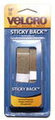 "VELCRO® Brand- Packaged 3/4"" ADHESIVE BACKED 18"" - BEIGE"