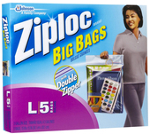 Ziploc Big Bag Large (5 ct.) 15 x 15