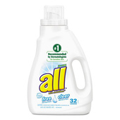 All Free & Clear Liquid Laundry Detergent- 50 oz.