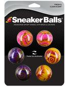 SofSole Sneaker Balls-TIE DYE-6 Pack
