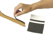 Stick On Foam Pads For Hangers - Charcoal - 100 count