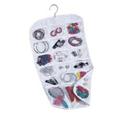 Household Essentials Travel Jewelry Organizer - 37 Pockets