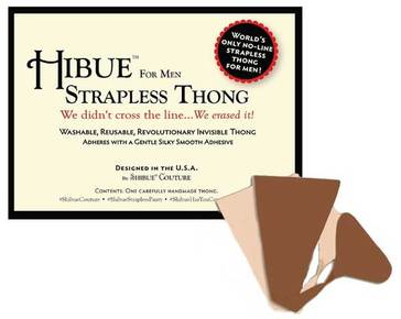 Hibue For Men Strapless Thong