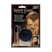Mehron Spirit Gum with Crepe Hair