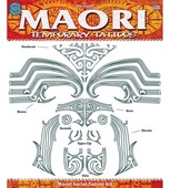Tinsley Transfers - Face - Maori Tribal