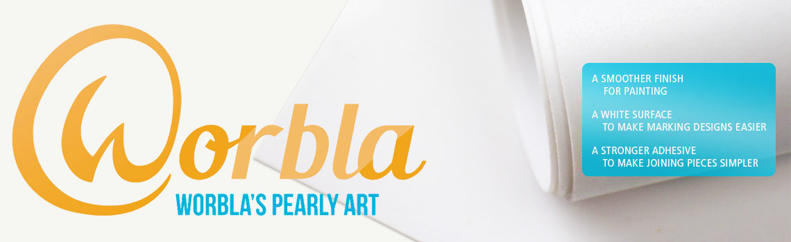 Worbla pearly art slider