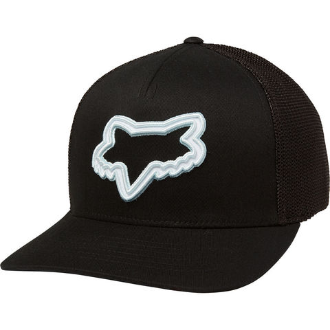 GORRA FOX PACED FLEXFIT NEGRO