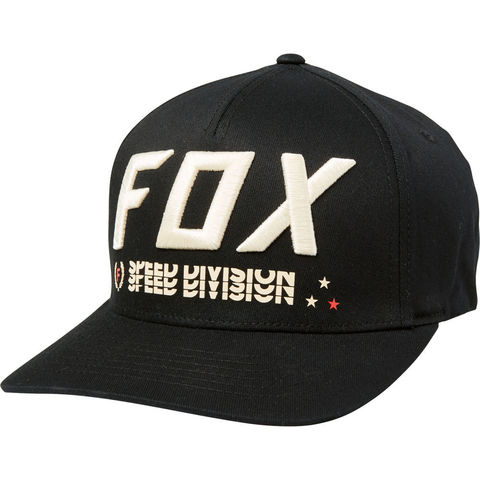 GORRA FOX TRIPLE THREAT FLEXFIT NEGRO