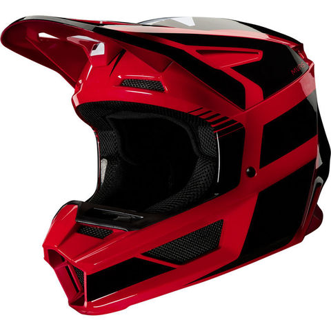 Casco Fox V2 Hayl Rojo T/S