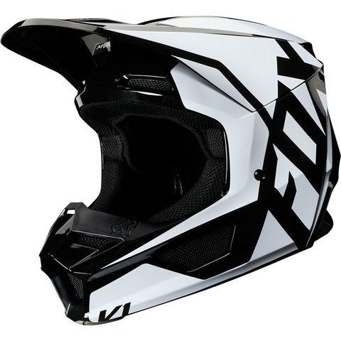 Casco Fox V1 Prix Negro T/M
