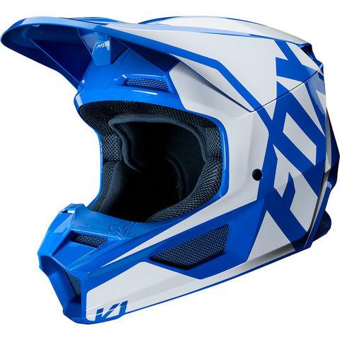 Casco Fox V1 Prix Azul T/M