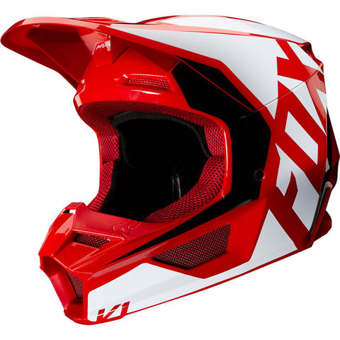 Casco Fox V1 Prix Rojo T/M