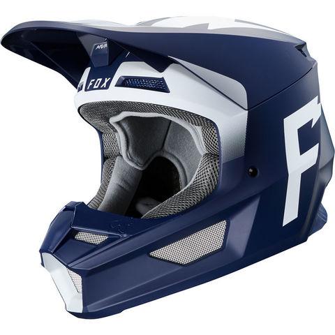 Casco Fox V1 Werd Azul T/M