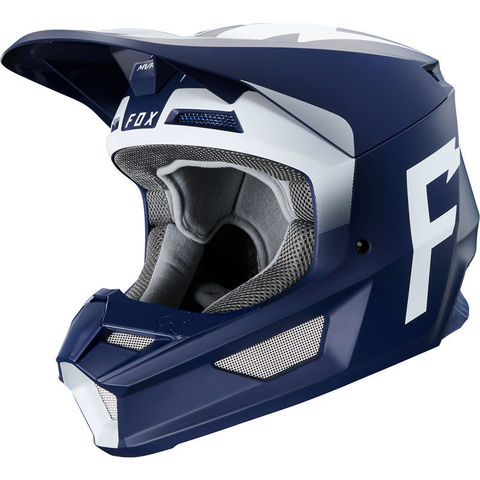 Casco Fox V1 Werd Azul T/L