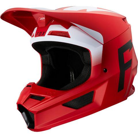 Casco Fox V1 Werd Rojo T/M