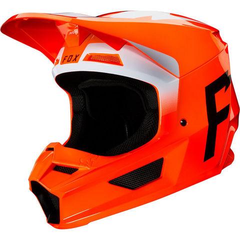 Casco Fox V1 Werd Naranja T/S