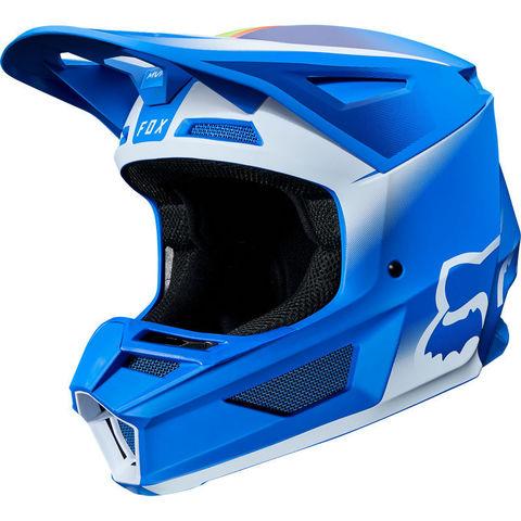 Casco Fox V2 Vlar Azul T/S