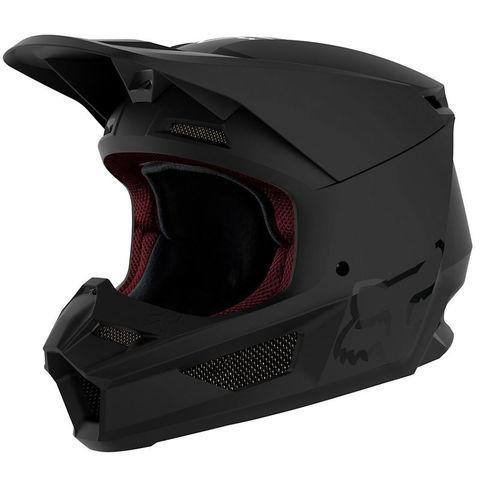 Casco Fox V1 Matte Negro T/L