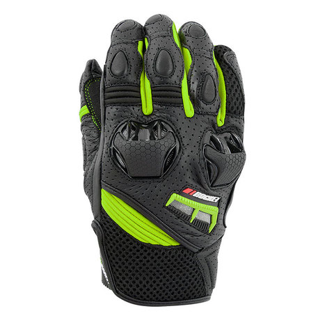 GUANTE JOE ROCKET HIGHSIDE LEATHER MESH FLUORESCENTE T/L