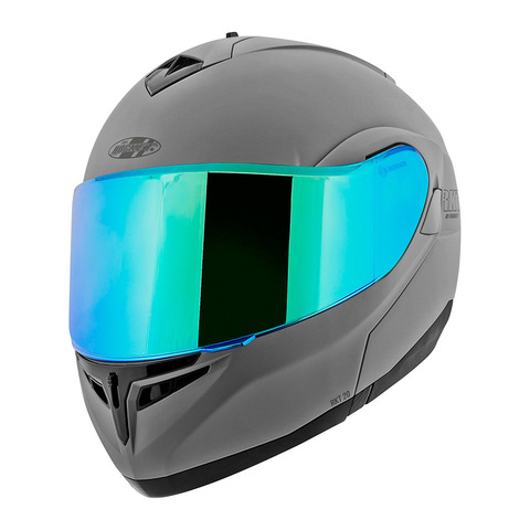 CASCO JOE ROCKET ABATIBLE RKT 20 ION GRIS