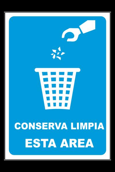 Conserva limpia el area