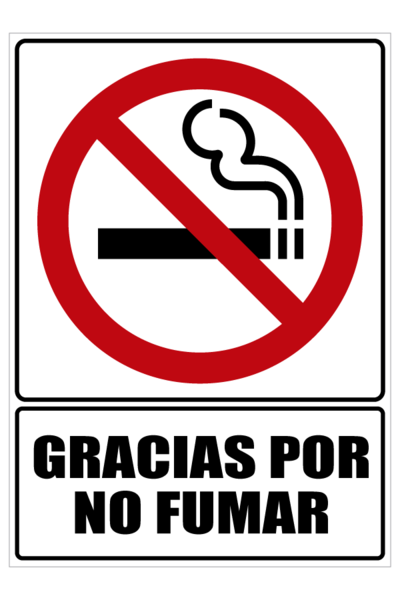 Gracias Por No Fumar