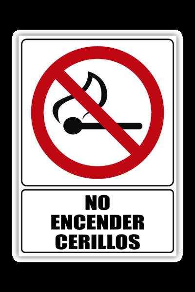 No Encender Cerillos
