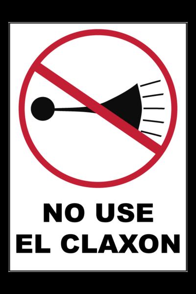 no use claxon