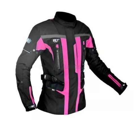 CHAMARRA DEPORTIVA R7 - 246 PARA MUJER ROSA T/M
