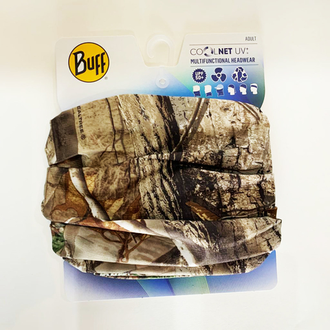 ORIGINAL BUFF REALTREE COOLNET UV+ AP