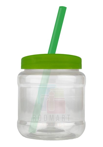 TARRO 250ML R63 18G TRANS POP ECO VERDE TRASL