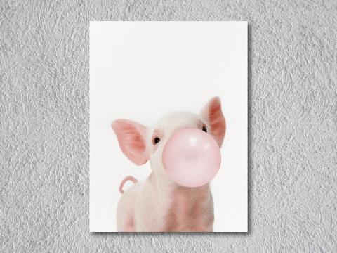 Cerdito Bubble Gum