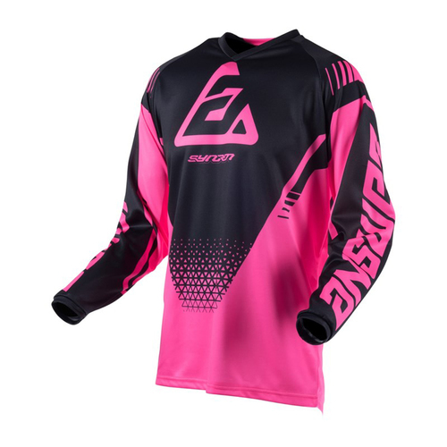 JERSEY ANSWER SYNCRON DRIFT YOUTH NIÑA JOVEN ROSA T/M