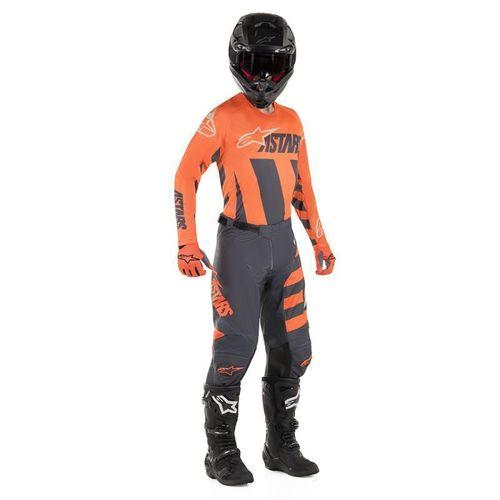 Kit Jersey Pant Alpinestars Racer Braap Naranja Mx 19 32-M