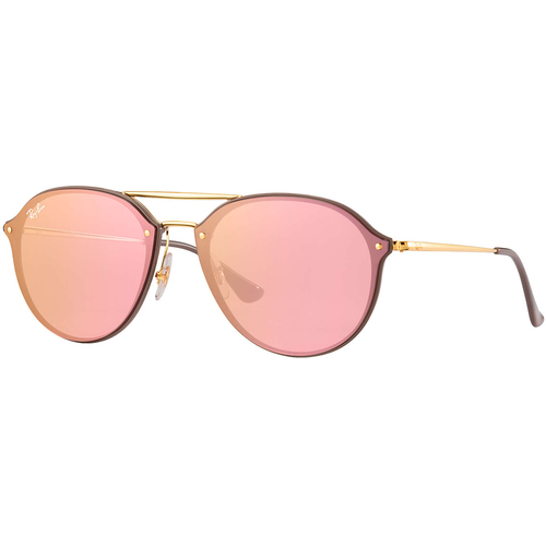 Lentes De Sol Ray Ban Blaze Double Bridge Rosa Oro Rb 4292
